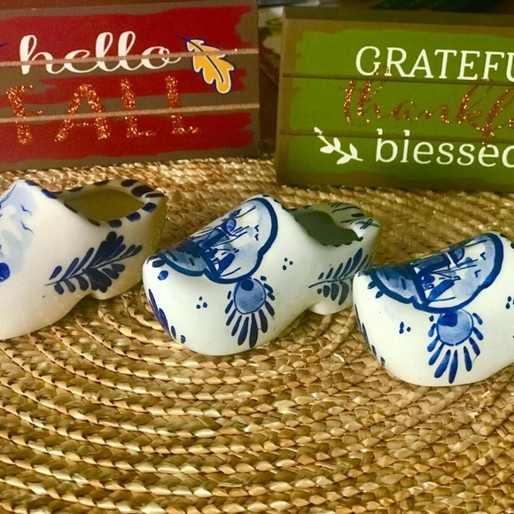 VINTAGE DELFT HOLLAND HAND PAINTED